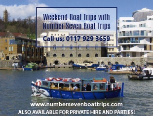 Number Seven Boat Trips in Bristol