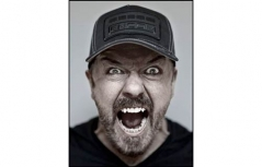 Ricky Gervais at Colston Hall in Bristol Comedy Review