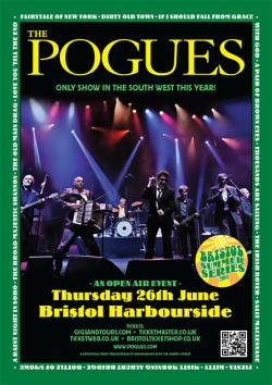 The Pogues at Bristol Harbourside - Bristol gig review