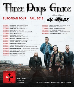 Three Days Grace and Bad Wolves Bristol gig review