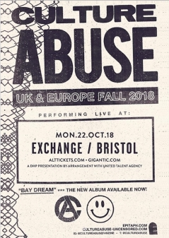 Culture Abuse live at The Exchange - Bristol Live Music Review