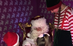 Santa's Grotto at Almondsbury Garden Centre - Review