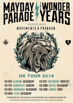 The Wonder Years and Mayday Parade at the O2 Academy Bristol - Live Music Review