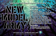 Review: New Model Army @ SWX Bristol