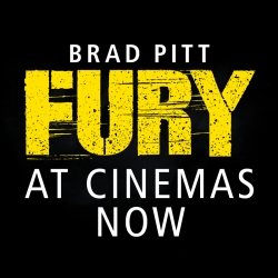 Fury starring Brad Pitt film review in Bristol