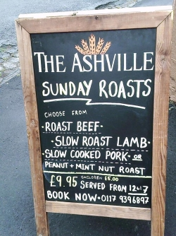 The Ashville in Bristol Sunday Roast Review