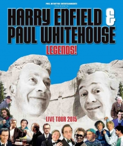 Harry Enfield and Paul Whitehouse at the Colston Hall on the 30th October 2015