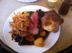 The Green Man - Sunday Roast Review in Bristol
