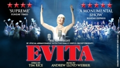Evita at the Bristol Hippodrome until 18th February - Review