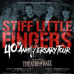 Stiff Little Fingers at Bristol O2 Academy - Live Music Review