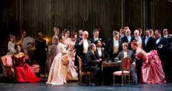 La traviata at The Bristol Hippodrome performed by The Welsh National Opera