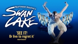 Matthew Bourne's Swan Lake at The Bristol Hippodrome