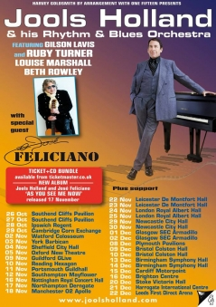 Jools Holland, Jose Feliciano and the Rhythm & Blues Orchestra, Colston Hall