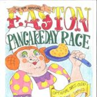 Great Easton Pancake Race