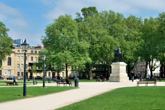 Queen Square in Bristol - BS1 4QS