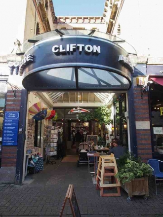 Clifton Arcade in Bristol