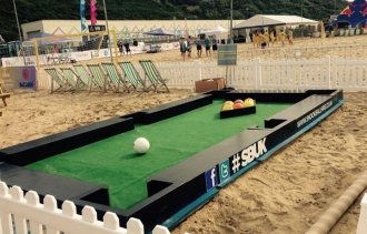 Snookball Hire in Bristol with SBUK