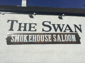 The Smokehouse Saloon at The Swan in Winterbourne near Bristol