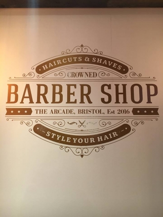 Crowned Barbershop in Bristol