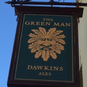 The Green Man Pub in Bristol