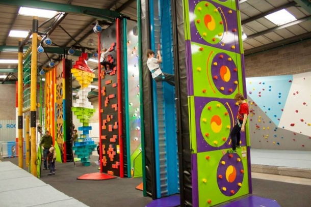 Incredible fun for everyone at Clip 'n Climb this November