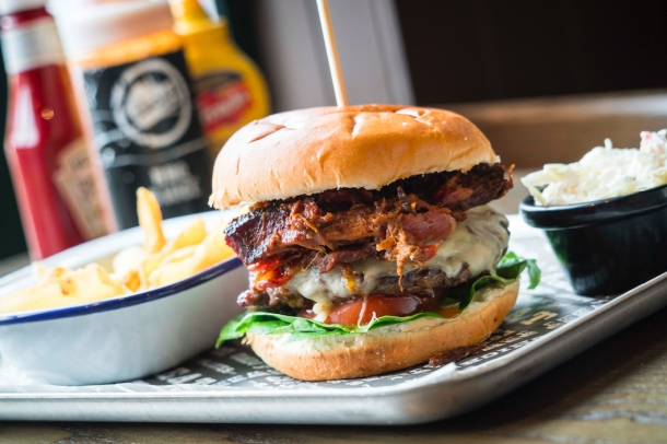 Lunch deals at Smoke Haus Bristol every Monday to Thursday - September 2017
