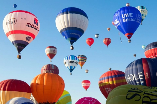 Bristol International Balloon Fiesta 40 year celebration