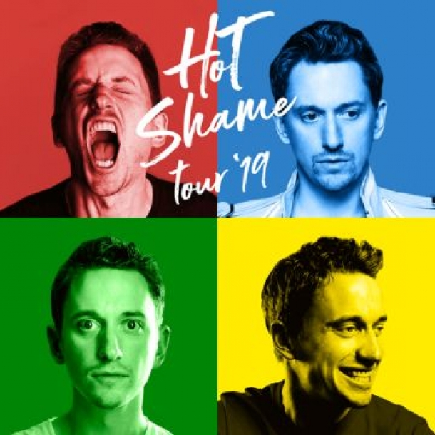 JOHN ROBINS: HOT SHAME Tour 2019 at The Redgrave Theatre in Bristol on 30th September 2019