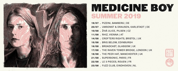 Medicine Boy live at The Crofters Rights on Wednesday 14th August 2019
