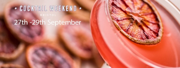Cocktail Weekend Bristol from 27th-29th September 2019