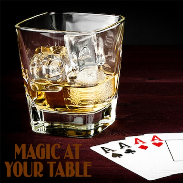 Live Magic at your Table at Smoke and Mirrors Bar Bristol in September 2019