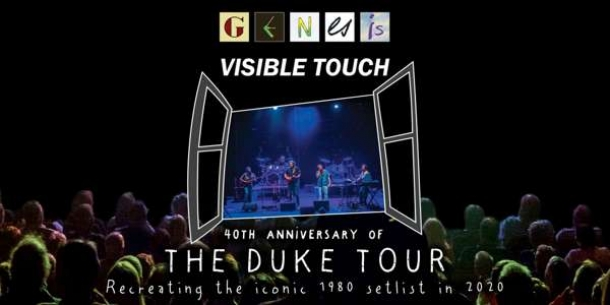 Visible Touch: A Tribute to Genesis at Exchange in Bristol on Friday 17 January 2020