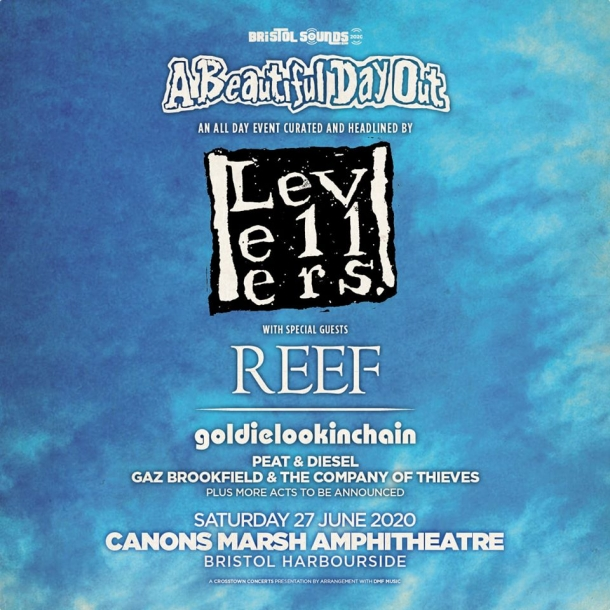 The Levellers present A Beautiful Day Out at Lloyds Amphitheatre | Bristol Sounds 2020