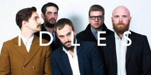 Idles at The Fleece in Bristol on 8 March 2017