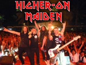 HI ON MAIDEN + THE SABBATH YEARS at The Fleece on 7 April 2017