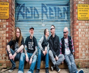 Acid Reign at The Fleece in Bristol on Sunday 9 April 2017.