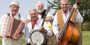 The Wurzels at The Fleece in Bristol on Sunday 16 April 2017.