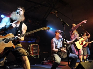 HAYSEED DIXIE at The Fleece in Bristol on Wednesday 19 April 201