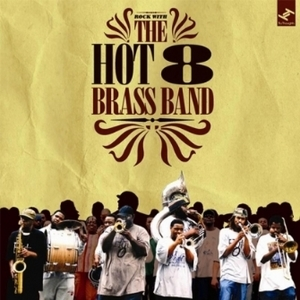 The Hot 8 Brass Band at The Fleece in Bristol on 3 May 2017.