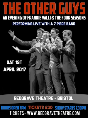 The Other Guys at The Redgrave Theatre on 1 April 2017
