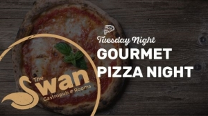 Gourmet Pizza night at The Swan Hotel - Tuesday 4 April 2017