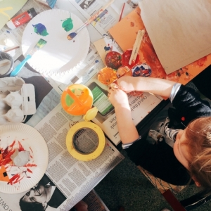 Baby Art Hour For babies and toddlers up to 5 years old at Spike Island in Bristol on 24 March 2017