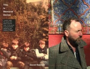 Novel Writers David Keenan This is Memorial Device at Spike Island In Bristol on 30 March 2017