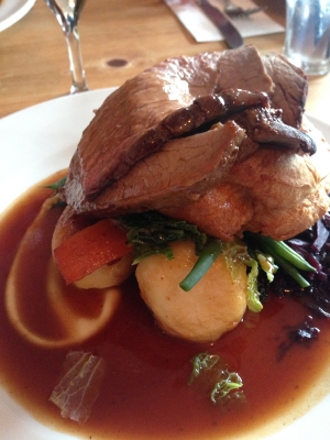 Excellent Sunday Lunch at The Gloucester Old Spot in Bristol - Sunday 27 August 2017