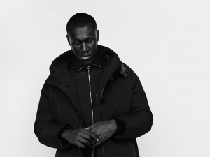 Stormzy at O2 Academy in Bristol on 28 April 2017.