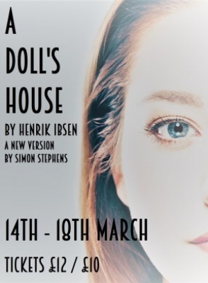 A Doll's House at Alma Tavern in Bristol from 14-18 March