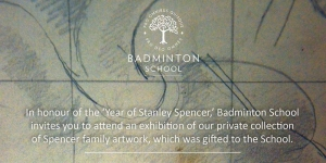 Badminton School Bristol to present private collection of Stanley Spencer Artwork