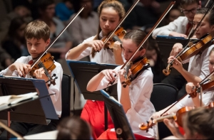National Children's Orchestras of Great Britain at Colston Hall on 8 April 2017