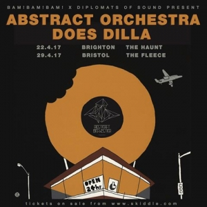 ABSTRACT ORCHESTRA DOES DILLA at The Fleece in Bristol on 29 April 2017