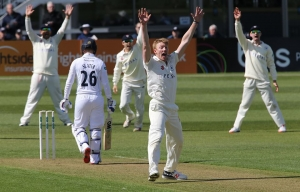 Gloucestershire Cricket v Derbyshire in the County Championship in Bristol